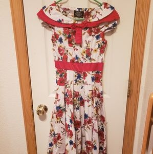 Hearts and Roses London Floral Swing Dress
